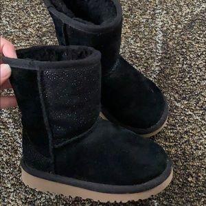 Black Toddler Girl Uggs Size 9US